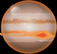Planètes jupiter