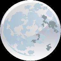 Planètes lune