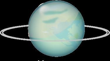 Planètes uranus