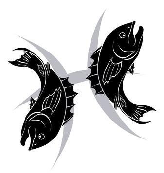 signe astrologique poissons